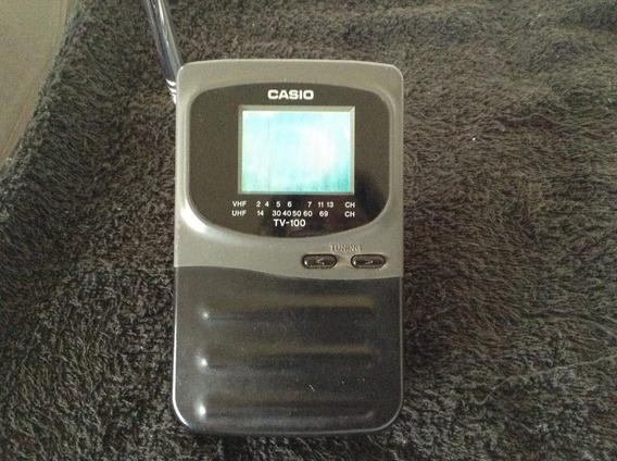 Tv Casio-tv-100-funcionando