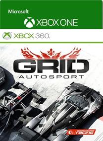 Grid Autosport Jogo Xbox 360 Xbox One Game Digital Original