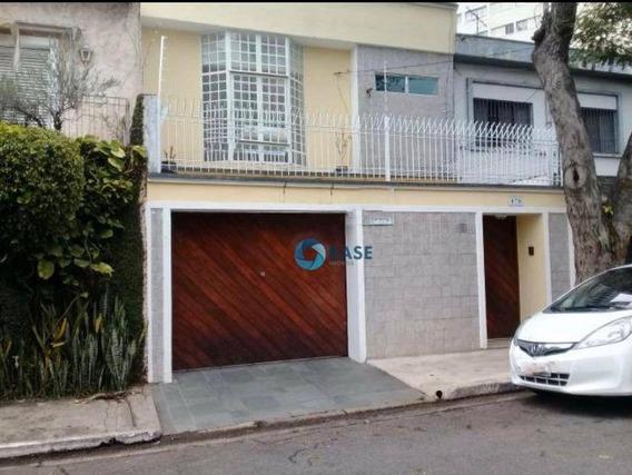Sobrado Com 4 Dormitórios À Venda, 298 M² Por R$ 1.170.000 - Santo Amaro - São Paulo/sp - So0054