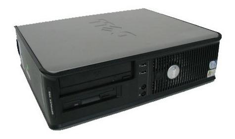 Cpu Dell 755 Core 2 Duo E6550hd Sata 160gb 2gb Ram
