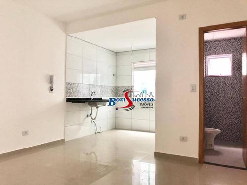 Apartamento Com 2 Dormitórios À Venda, 45 M² Por R$ 275.000,00 - Chácara Mafalda - São Paulo/sp - Ap3101