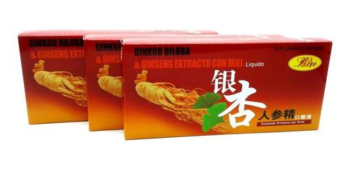Ginkgo Biloba Y Ginseng Extracto C - Unidad a $2400