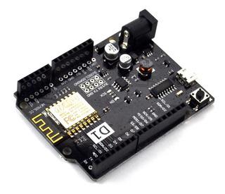 Arduino Uno Wemos D1 Esp8266 Wifi Ch340 + Cable Micro Usb