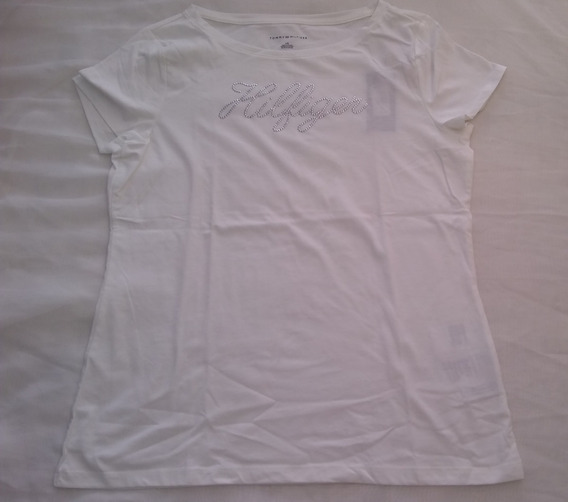 Remeras Tommy Mujer (brillo)