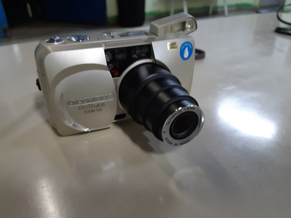 Câmera Analógica Fotográfica Olympus Stylus Zoom 140