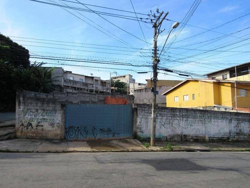 Imagem 1 de 6 de Terreno À Venda, 371 M² Por R$ 550.000,00 - Parque Jurema - Guarulhos/sp - Te0181
