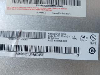 Pantalla Hp De 18.5 Lcd M185xw01