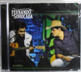 Cd Fernando & Sorocaba Acústico Mpb Pop Lacrado Fabrica