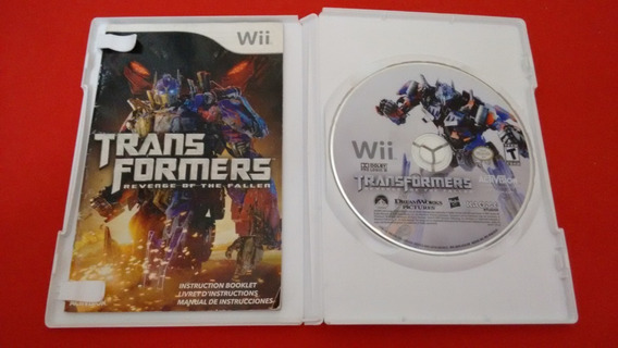 Transformers Revenge Of The Fallen Nintendo Wii Original