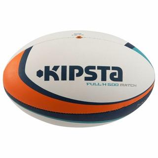 Balón De Rugby Full H 500 Talla 5 Profesional