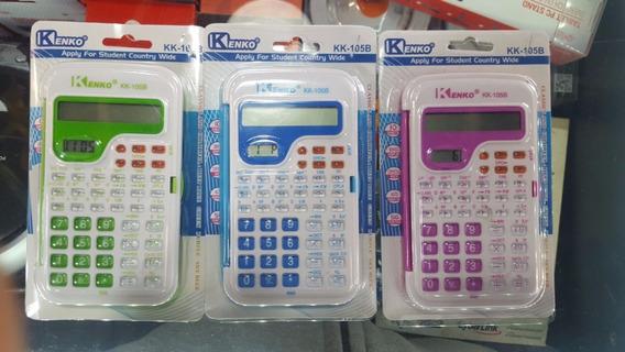 Calculadora Cientifica Varios Colores Kenko Kk-105b Sin Pila