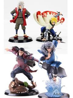Naruto Figuras De Ação 4 Peças