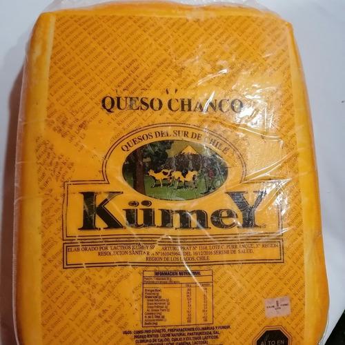 Imagen 1 de 1 de Queso Chanco Kumey  Pieza 7,8 Kg  1 Pieza