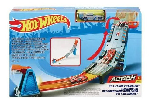 Pista De Carrinhos Hot Wheels Campeonato Para O Topo Mattel