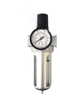 Filtro Regulador De Presion Para Compresor 1/2 Rotake