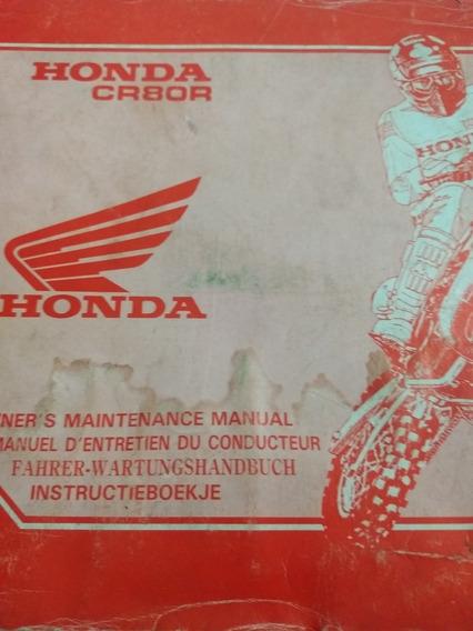 Manual De Servicio Honda Cr 80r