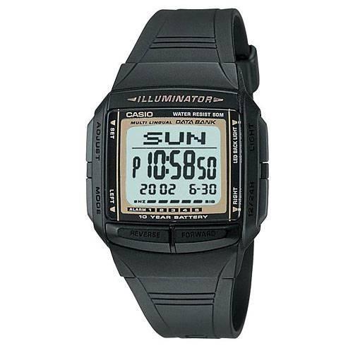 Relógio Db-36-9a Data Bank 30 Memoria 5 Alarmes 50 Mts