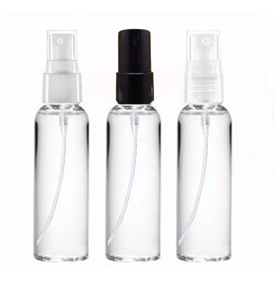 100 Frascos Pet 60 Ml Alto Válvula Spray - Promoção