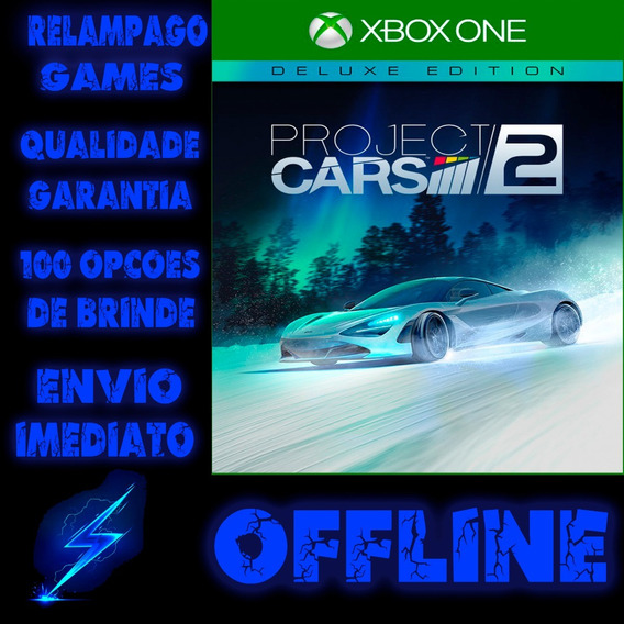 Project Cars 2 Deluxe Edition Xbox One Offline + Brinde