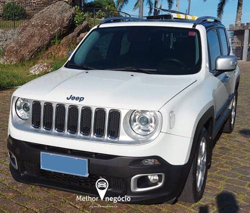 Jeep Renegade Limited 1.8 Flex Aut. 2018 Branca