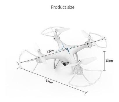 Drone Wifi Com Câmera Hd 4-axis-gyro One Key Return Drone To