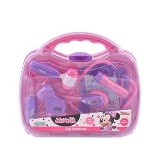 Set Doctora Doctor Minnie Mouse C Luz Y Sonido Disney Ditoys