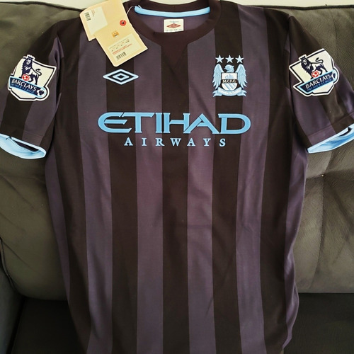 Camisa Manchester City 2012 2013 Third #7 Milner Oficial