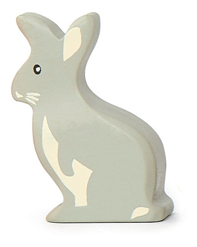 Imagen 1 de 3 de Juguete Animales De Madera Conejo Para Niños Y Bebés Febo