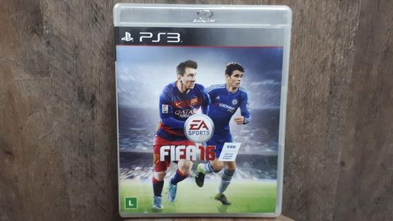 Fifa 16 Ps3 Jogo Playstation 3 Original Mídia Física