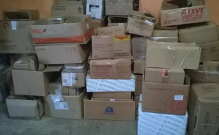 Paquete 30 Cajas De Carton Empacar Usadas Surtidas 50x25x40