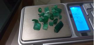 Lote De Esmeraldas Com 23,80cts Lapidados 23 Pedras Naturais