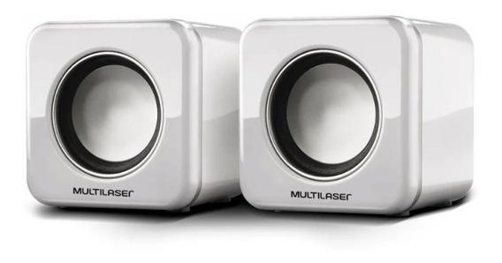 Mini Caixa De Som Multilaser Para Notebook Power Speaker