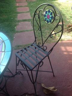 Sillas De Fierro Para Terraza En Easy Terrazas Muebles