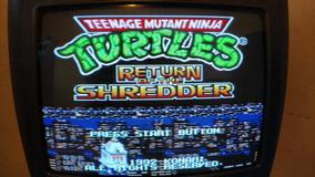 Jogo Para Mega Drive Tartarugas Nijas. Teenage Mutant Ninjas
