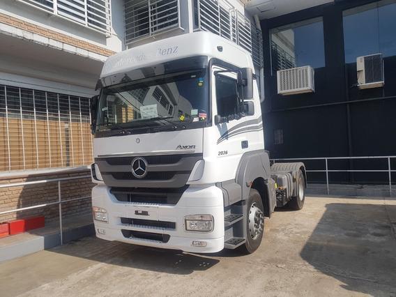 Mercedes Benz Axor 2036-36 Cabina Dormitorio Techo Elevado