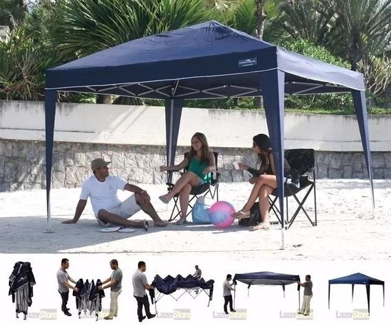 Tenda Gazebo Praia Sanfonada Articulada Trixx Nautika 352000