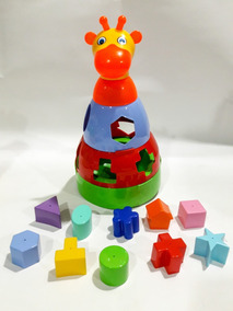 Girafa Educativa Para Seu Bebê Se Divertir Brincando !