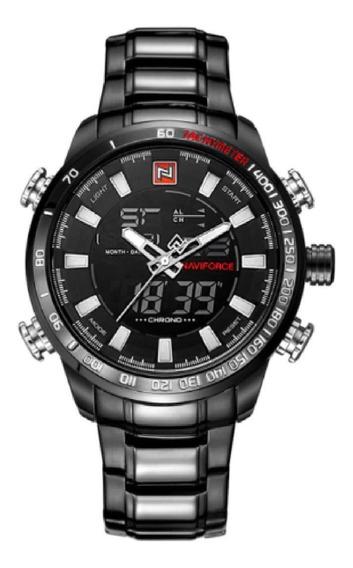 Relógio Naviforce 9093 - Original - Aço Inoxidável-na Caixa