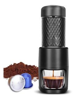 Máquina Para Café Expresso Portatil Staresso Pequeña 20cm