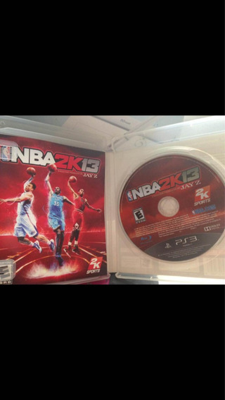Playstation 3 Nba 2k13 Jay-z Ps3 Usado Ótimo Estado R$69,99