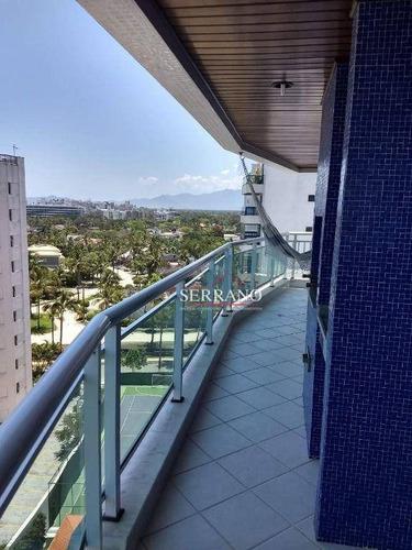 Imagem 1 de 24 de Apartamento Com 3 Dormitórios À Venda, 101 M² Por R$ 1.900.000,00 - Riviera São Lourenço - Bertioga/sp - Ap0439