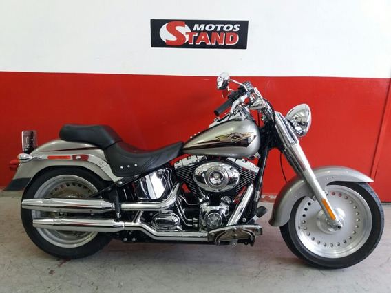 Harley Davidson Softail Fat Boy Flstf 2008 Prata