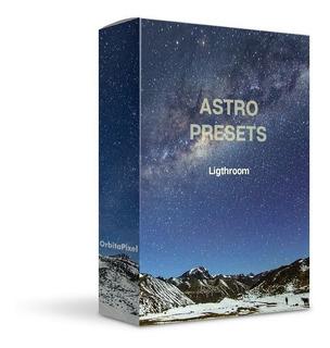 Colección Astro Presets Fotografía Profesional Lightroom