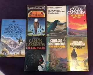 Colección 7 Libros Carlos Castaneda