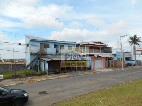 Salão Comercial À Venda, Jardim Bela Vista, Sumaré. - Sl0442