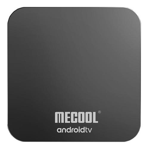 Imagen 1 de 3 de Tv box Mecool KM9 Pro  de voz 4K 32GB  negro con 4GB de memoria RAM