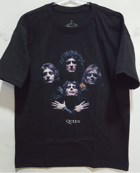 Camiseta Banda Queen - Bohemian Rhapsody - Power Rock