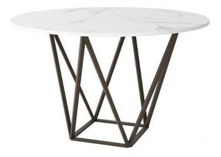 Mesa De Comedor Modelo Tintern - Blanco Këssa Muebles
