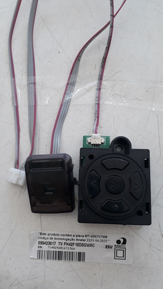 Sensor Remoto + Botoes Ph42f10dsgwac