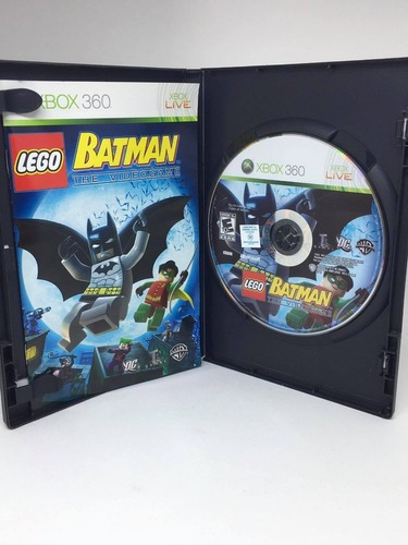 Jogo Lego Batman The Videogame Xbox 360 Original Midia Fisic